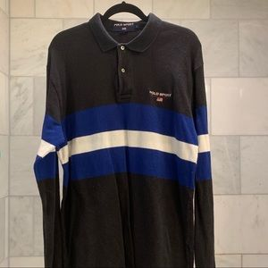 Vintage 90s Ralph Lauren Polo Sport rugby polo